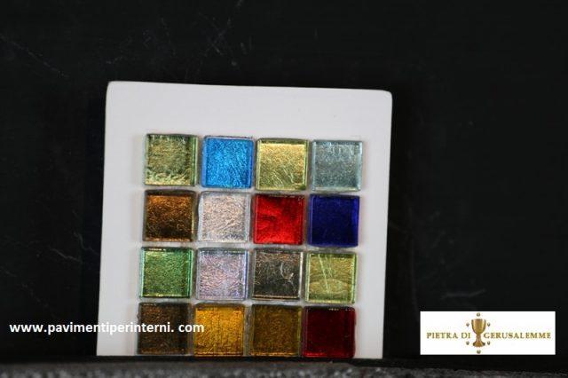 Mini -piastrelle colorate