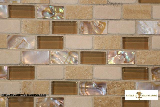 Mosaico  madre perla