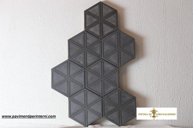 Mattonelle di cemento decorate