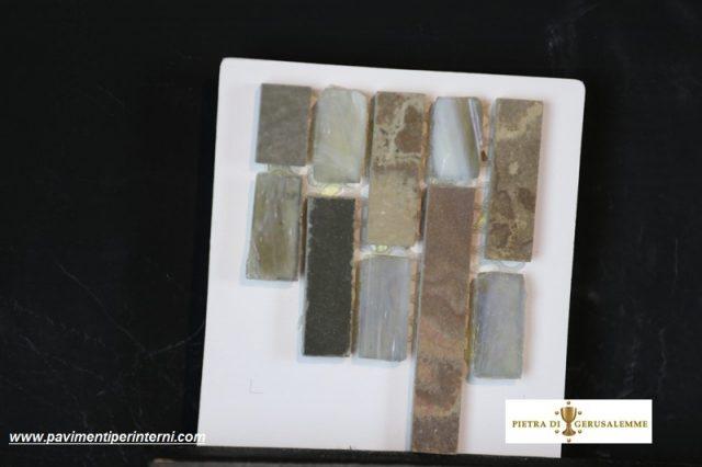 Pietra naturale per mosaici