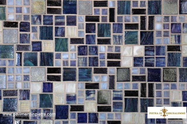 Vetro -mosaico design
