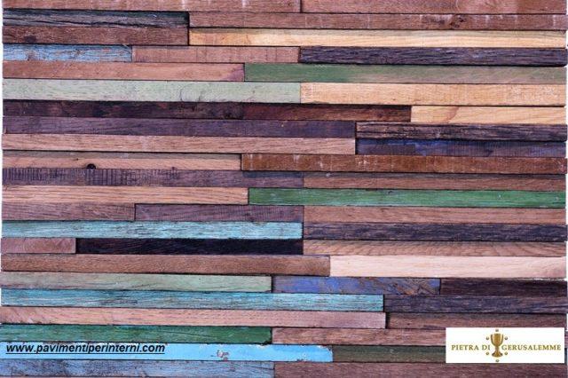 Rivestimenti moderni in legno antico