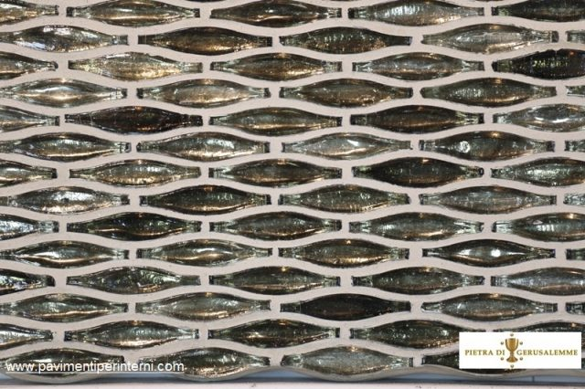 Mosaico vetro-rivestimento