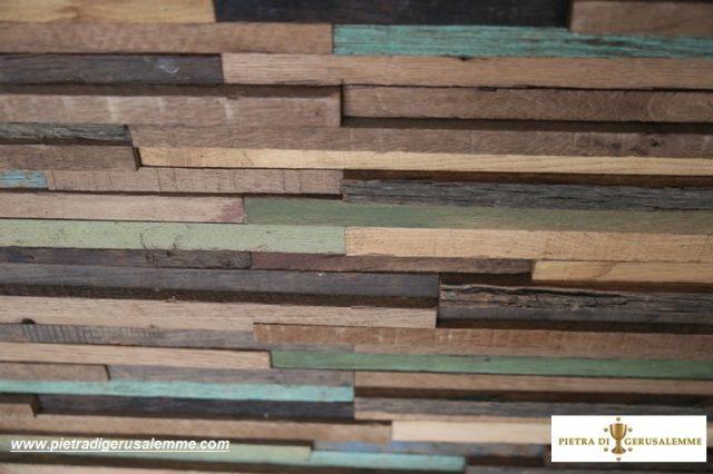 Parete legno antico