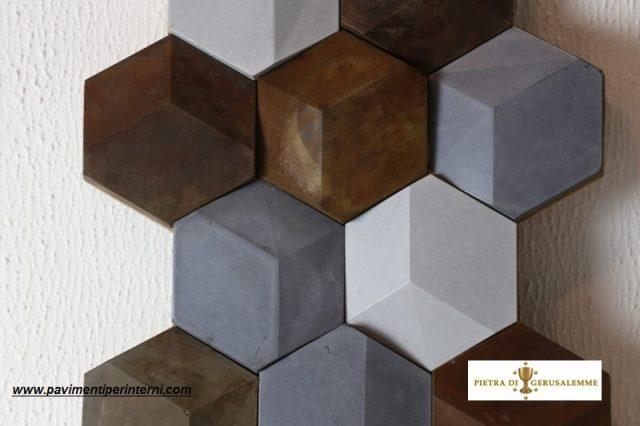 Mosaico di cemento -rivestimenti