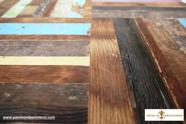 Pavimento antico legno