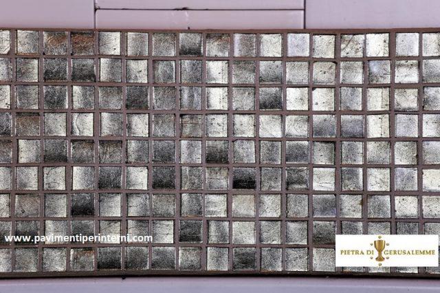Micromosaico -argento